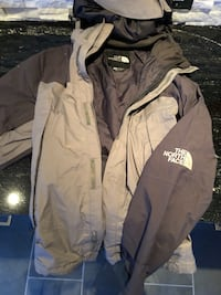 The North Face gortex jacket men's size M