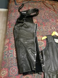Motorcycle chaps extra small and medium 33 length