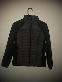 black zip-up jacket Washington, 20024