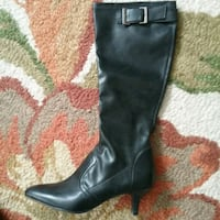 Ladies Black( Butter Soft) Leather Dressy Boots Peterborough, K9J 4Y9