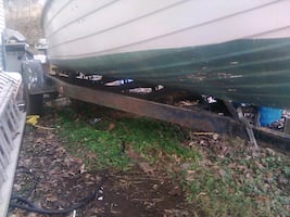 17 to 20 foot single axle boat trailer