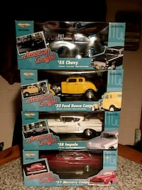 Whole set of American Graffiti cars Mount Gilead, 43338