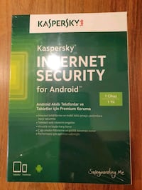 Kaspersky internet security for Android 1 yillik l İstanbul