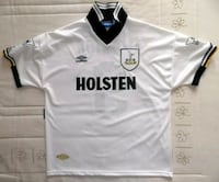 Camiseta Spurs sponsor Holsten Darren Anderton Madrid