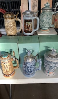 Lot of Beer Steins/21 Total Chadds Ford, 19317