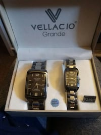 His and Hers Vellacio watches Walden, 12586