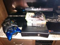 Xbox 360 w/325gig hardrive 10+ games on hardrive with games on disc Las Vegas, 89102