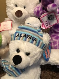 Lot of 4 stuffed animal new with tags 10.00 Clarksville, 37042