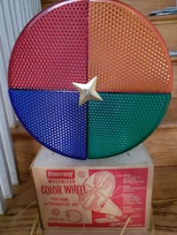 Revolving Color Wheel Light  Washington, 20011