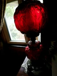 red and black table lamp Williamston, 29697