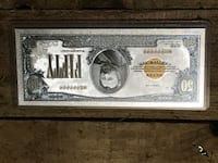 99.9% pure silver banknotes w/ certificate of authenticity  Everett, 98204