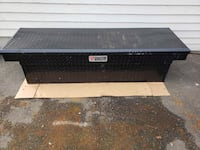 Truck Tool Box with Push Buttons, Full Size Single Newtown