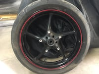 2005 Yamaha r6 front rim. R is straight but Tire no good Stephens City, 22655