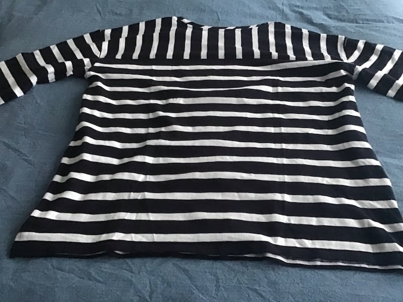 Women's brand new long sleeved striped top by Loft, size large 44546761-faee-4cd2-8aa3-6162d811efd5
