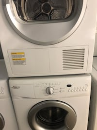 """24"""" apartment size washer & electric dryer in good working condition, price is firm & for both  Montgomeryville, 19477"""
