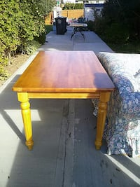 rectangular brown wooden coffee table Kelowna, V1Y 4V2