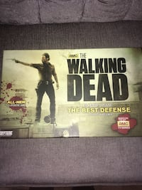 The walking dead board game box