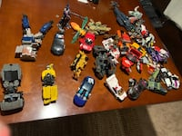 Lot of Vintage transformer toys and parts Indianapolis, 46220