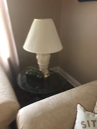 white and black table lamp Point Pleasant, 08742