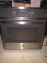 GE STAINLESS STEAL smart wall mount oven  Surrey, V4A