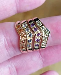 10k yellow solid gold rings Tigard
