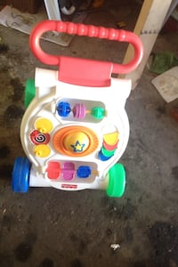 baby's multi colored print Fisher-Price learning walker Ottawa, K1C
