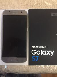 Samsung S7 unlocked 32 gb perfect working condition  Mississauga, L5C 2E7