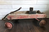 Vintage Wooden Wagon - Great Photo Prop, Rustic Decor 557 km
