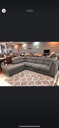 Used Brand New Ashley Sectional On Sale For Black Friday