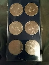 Rare Project Gemini Coin Set