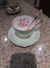 Beautiful Tea Cup with Spoon