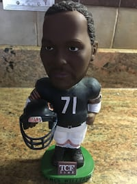 Chicago Bears James big cat Williams bobble head Woodridge, 60517