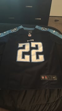 Small nike tennessee titans 22 home jersey shirt size small
