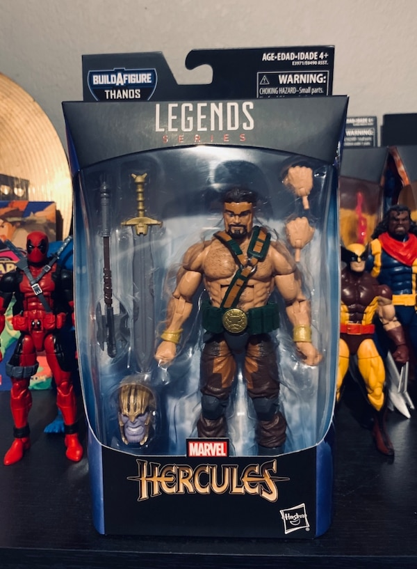 Marvel Legends Hercules with Thanos Build a Figure head