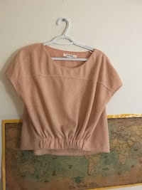 Beige scoop-neck blouse  Fairfax, 22031