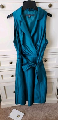 Teal party dress 12 petite