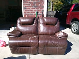 Double recliner love seat needs cover