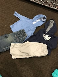 Baby boy jeans and huddie for 3-6 month good condition hardly use  Vaughan, L6A 3A4