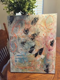 Abstract 16 by 20 Thibodaux, 70301