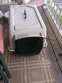 Plastic pet crate 28 L 21 H Hybla Valley, 22306