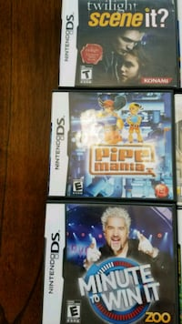two PS3 game cases and two game cases Hudsonville, 49426