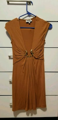 brown sleeveless mini dress Denham Springs, 70726