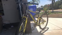 Black and yellow full-suspension bike San Bernardino, 92407