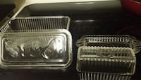 Vintage Loaf Baking and Butter dishes with covers Monroe Township, 08831