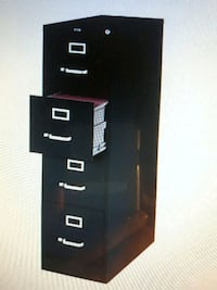 black and white wooden cabinet Toronto