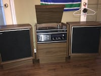 Vintage Record player and stereo Maple Ridge, V2X 8C7