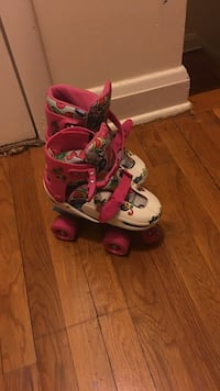 girl's pair of white-and-pink roller skates Washington, 20019