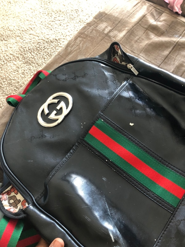d2f7d2eb128 Used Green and black gucci leather handbag for sale in Wilmington ...