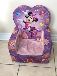 Minnie Mouse foam chair Markham