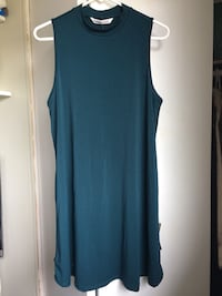 Women's teal sleeveless dress Kitchener, N2N 1C7
